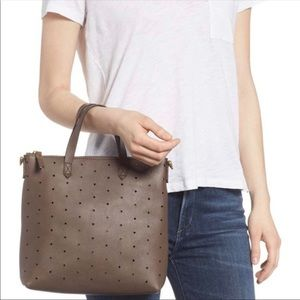NWOT Madewell Perforated Leather Crossbody bag